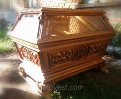 Гробница под плащеницу,  деревянная