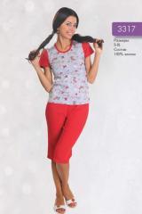 Бриджи 3317. Женская одежда Украина, оптом от