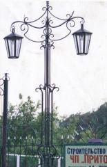 Shod lampposts