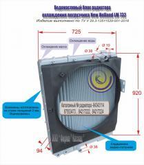 Водомасляный блок радиатора охлаждения...