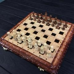 Шахматы-нарды ручной работы,  эксклюзивный...