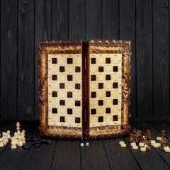Шахматы и нарды ручной работы,  эксклюзивная...