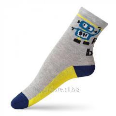 Оригинальные детские носки с рисунком робот VT