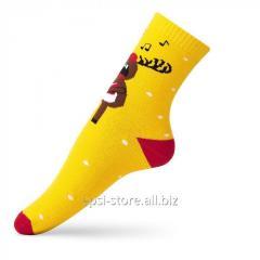Детские носки «Певец» VT Socks Темно-желтый,