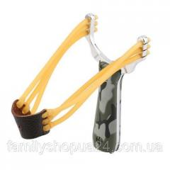 Компактная металлическая рогатка для спорта,