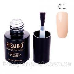 Гель-лак для ногтей маникюра 7мл Rosalind, ...