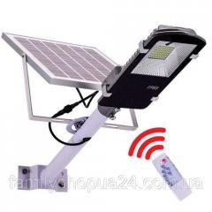 Уличный фонарь на солнечной батарее 20Вт 6000мАч