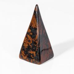 Пирамидка из обсидиана Персидского, 666ФГО