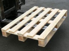 Pallets cargo wooden
