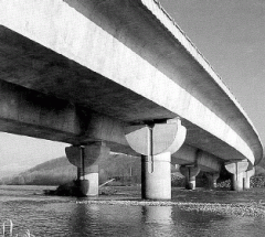 Bridge designs reinforced concrete
