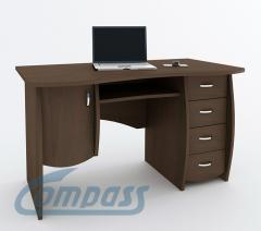 Desk with a curbstone