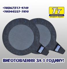 Фильтр прокладка сетчатая для газовых счетчиков