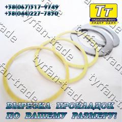 Прокладка фланца ду-150 (паронит,  резина, ...
