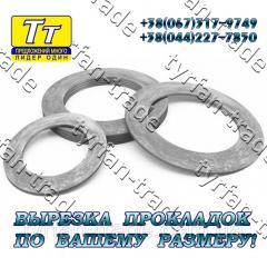 Прокладка фланца ду-400 (паронит,  резина, ...