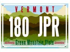 Декоративный американский номер вермонт (изготовим