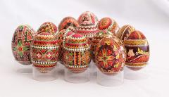 Original gifts: pisanka (Easter eggs) of handwork