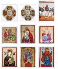 Handwork embroidery - the embroidered pictures,