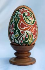 Ceramic pisanka - painted Easter eggs from