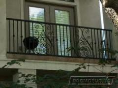 Protections for balconies shod in Kiev and Ukraine