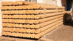 The wood rounded to buy in Ivano-Frankivsk