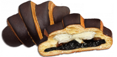 Croissant BOM-BIK Chocolate exclusive with prunes
