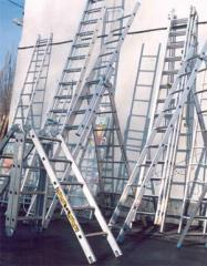 Ladders, step-ladders construction