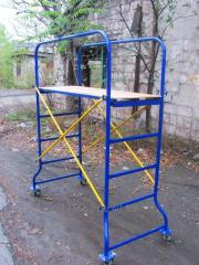 Scaffolds are construction mobile