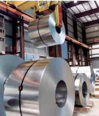 Zinc galvanized steel in rolls