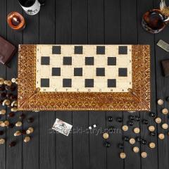 Резные нарды-шахматы ручной работы,  арт....