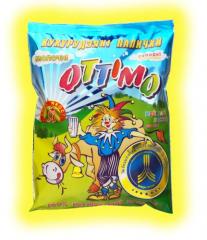 Corn sticks milk, 165 g, wholesale