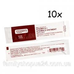 10x Крем заживляющий мазь для тату с витаминами A