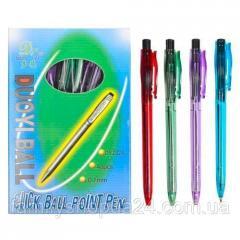 48x Ручка шариковая автоматическая Duoyi DY-202A,