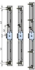Universal crossbar system. Universal sitsema of