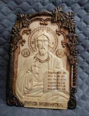 Икона ручной работы Иисуса Христа,  арт....