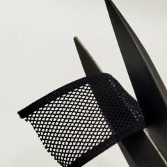 """На метраж резинка ажурная отделочная """"Сеточка """", 4 см, цвет черный (657-Л-0732)"""