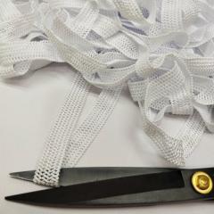 Ажурная резинка для нижнего белья, белая 2см (на метраж, кратно 1 м.) (657-Л-0722)