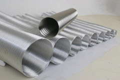 Воздуховоды гибкие гофрированные из алюминия и