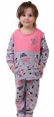 Пижама детская для девочек и мальчиков Клуб