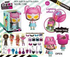 Кукла Bella Dolls сумка, в кот. кукла