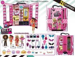 Игровой набор кукла Bella Dolls шкаф для одежды