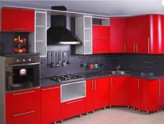 Кухня с пленочными МДФ фасадами