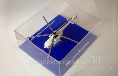 Large-scale models of helicopters, planes,