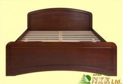 Кровать натуральное дерево массив ольха и ясень