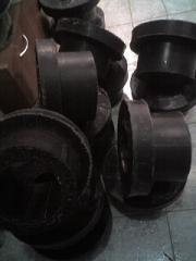 Polyamide graphite-reinforced