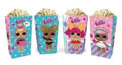 Коробки для сладостей и попкорна куклы Лол (5
