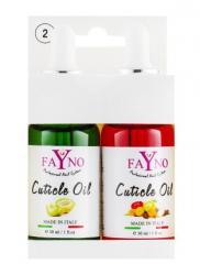 Набор масла для кутикулы Fayno №2 30 мл +...
