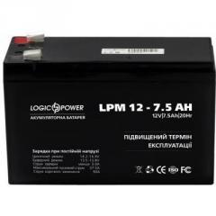 Батарея к ИБП LogicPower LPM 12В 7.5 Ач...