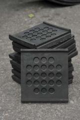 Прокладки резиновые нашпальные для ж/б шпал в