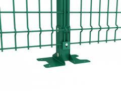 Анкерная пластина для Столба 60х40мм оц.+ ПП Ral