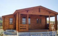 Complete country houses, construction of lodges,